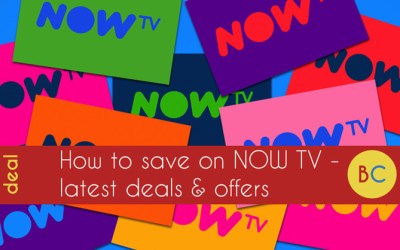 Now TV offers & deals: Up to £20 cashback | Black Friday deals | Cheaper existing customer offers | More!