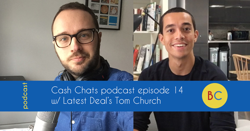 Cash Chats podcast episode 14 w/ guest Tom Church