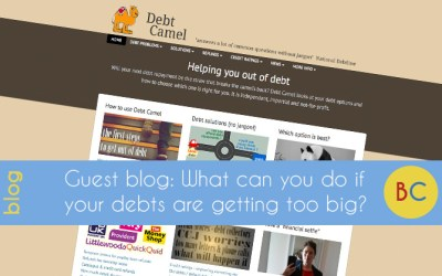 What can you do if your debts are getting too big?