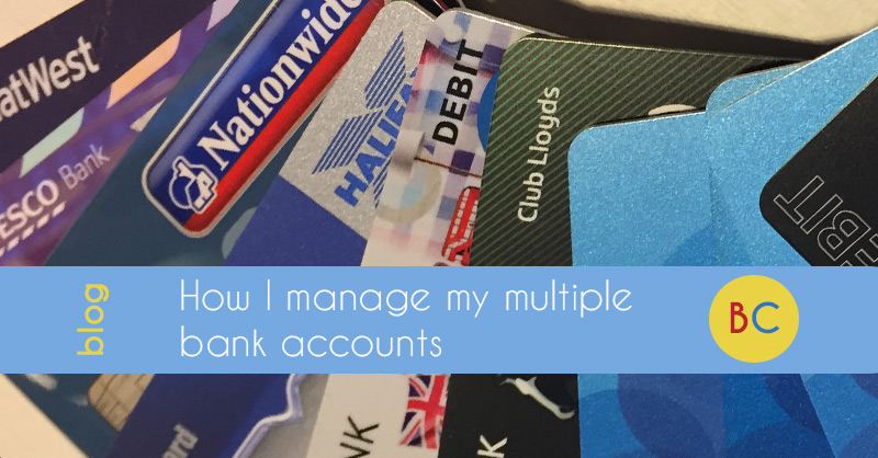 manage multiple bank accounts
