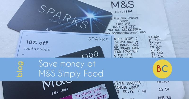 save money M&S simply food