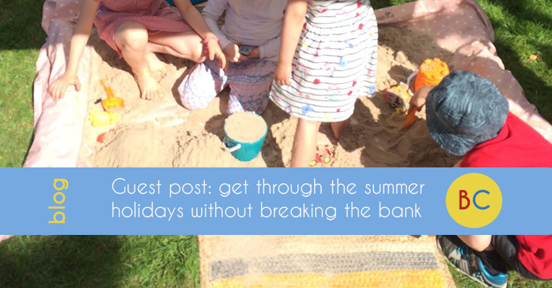 Guest post: get through the summer holidays without breaking the bank