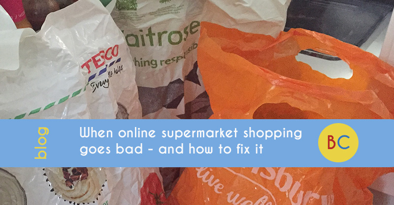 online supermarket shopping goes bad