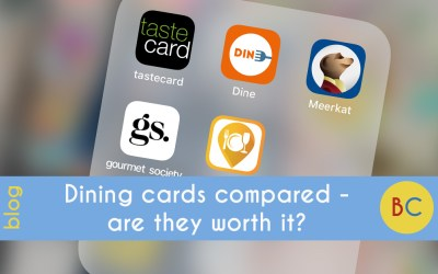 Dining cards compared – are they worth it?