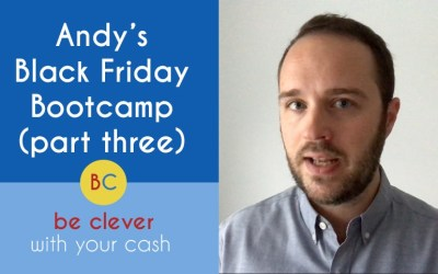 My Black Friday Bootcamp – final part