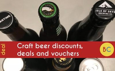 Craft beer discounts, deals and vouchers (September 2020)