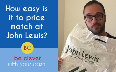 How easy is it to price match at John Lewis & Partners?