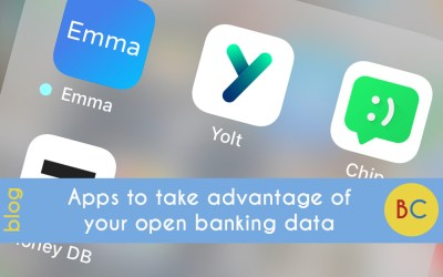 Apps to take advantage of your open banking data