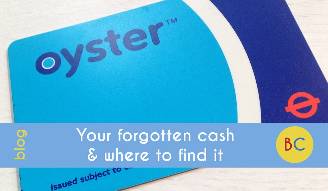 Your forgotten cash and where to find it