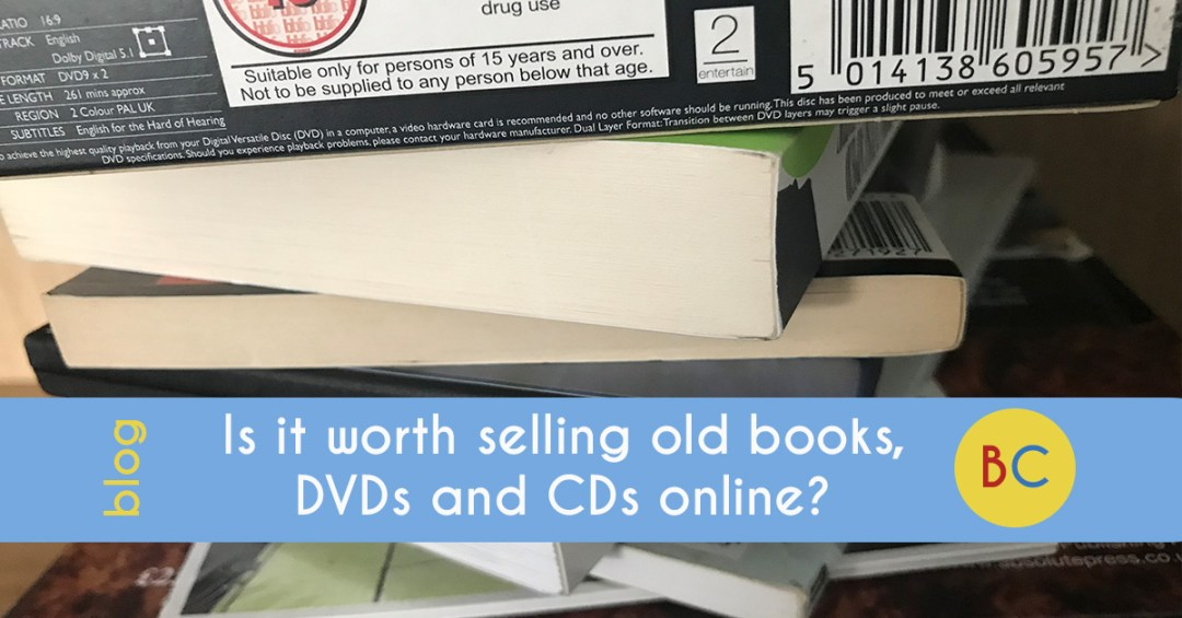 worth selling books, dvds and cd online