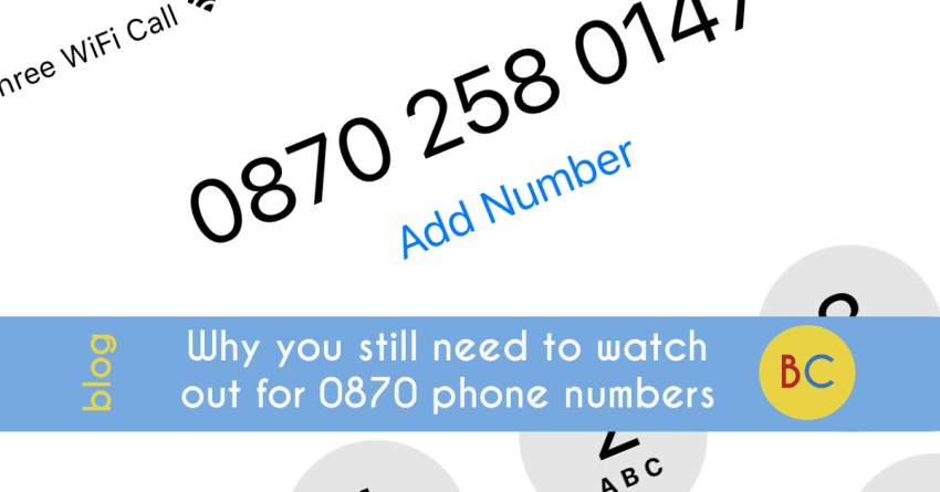 Why you still need to watch out for 0845 and 0870 numbers