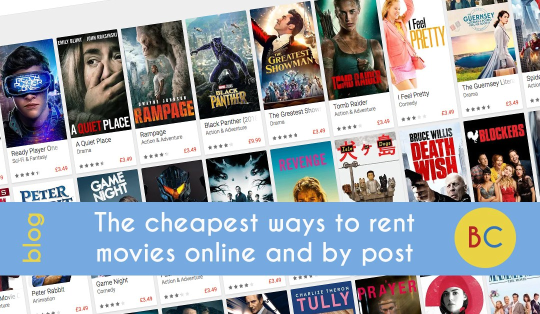 CHeapest movie rentals online and post