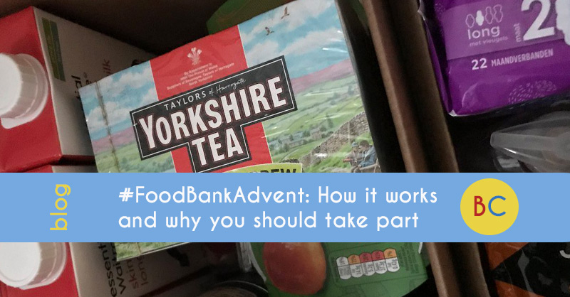 #FoodBankAdvent: How it works, and why you should take part