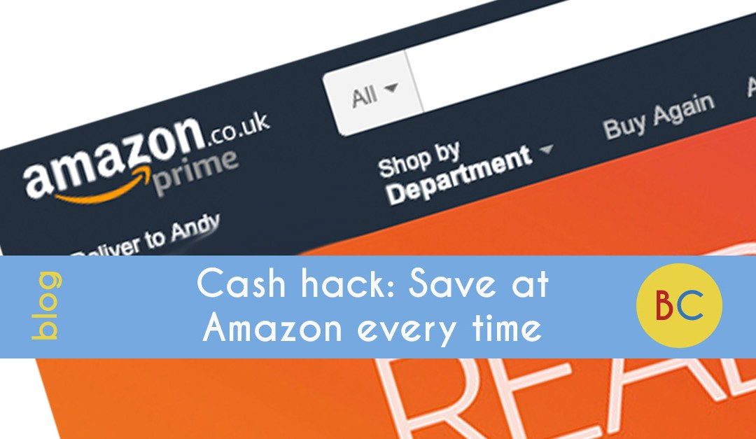 Cash hack: Save 4% at Amazon every time