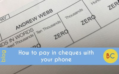 How to pay in a cheque online with your phone