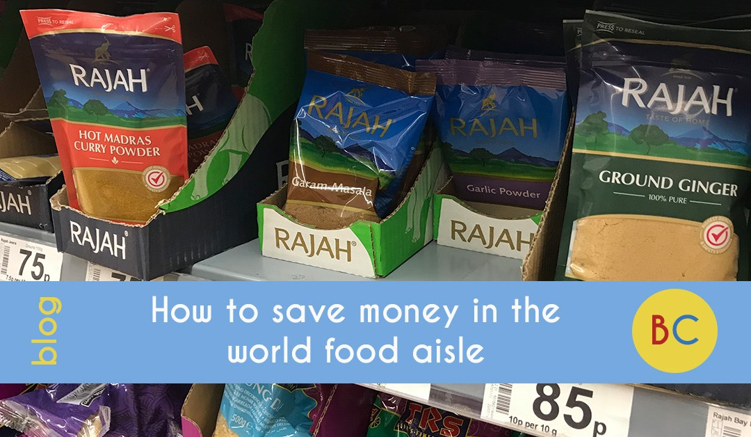 How to save money with the world food aisle
