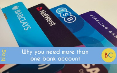 Why you need more than one bank account