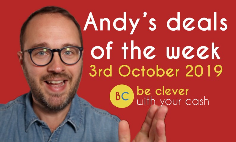 Andy's deals of the week - 3rd October 2019