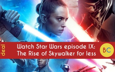 Save money on Star Wars IX: The Rise of Skywalker