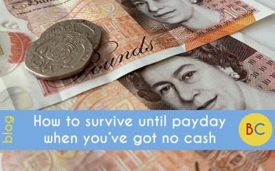 Frugal January: How to survive until payday when you've got no cash