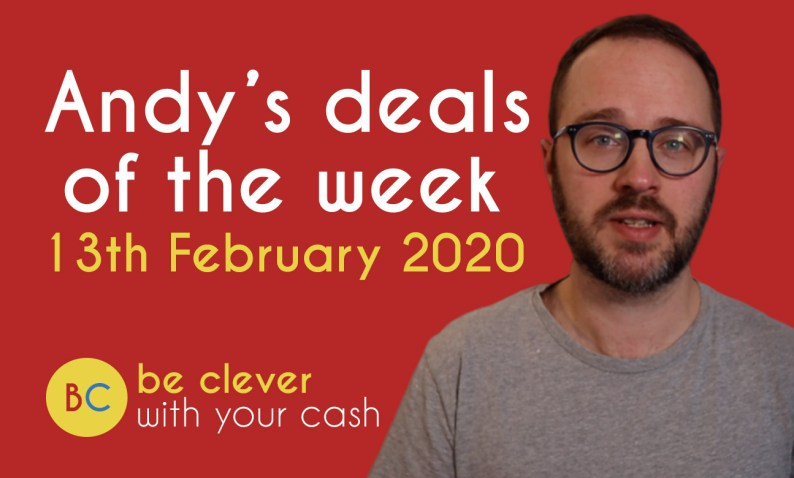 Andy's deals of the week 13th February 2020