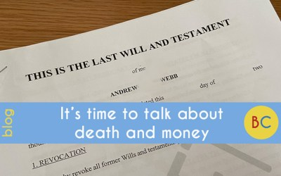 Time to talk about death and money