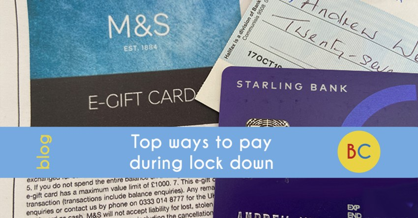 The top ways to pay during lockdown