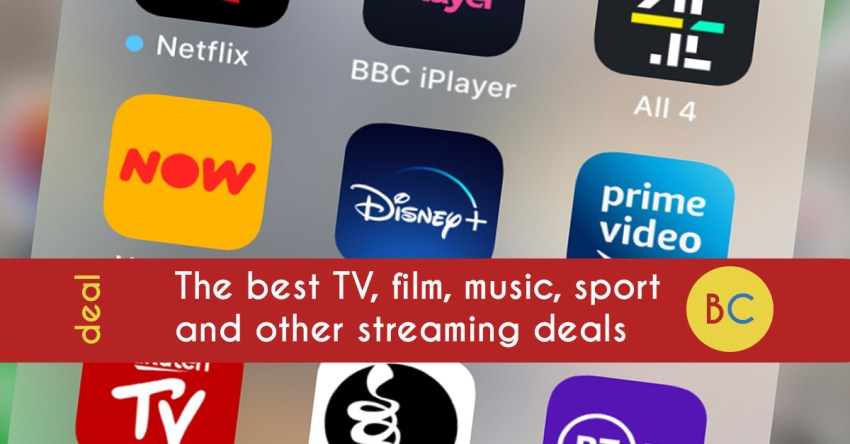 The best streaming deals: Music, film, TV, sport, theatre (May 2020) and more