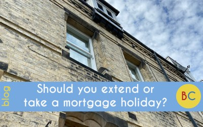 Should you extend or take a mortgage holiday?