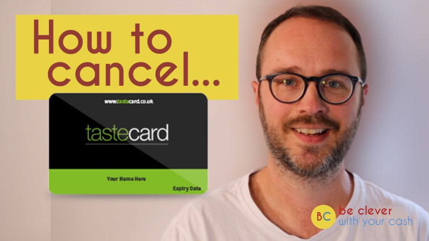 How do you cancel a Tastecard membership?