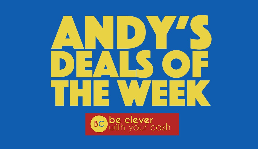 Andy's deals of the week 15th January 2021