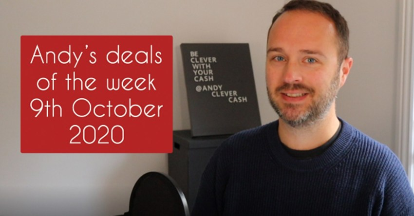 Andy's deals of the week 9th October 2020