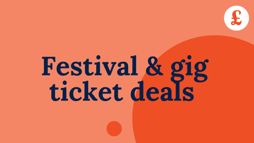 Cheap festival and gig tickets