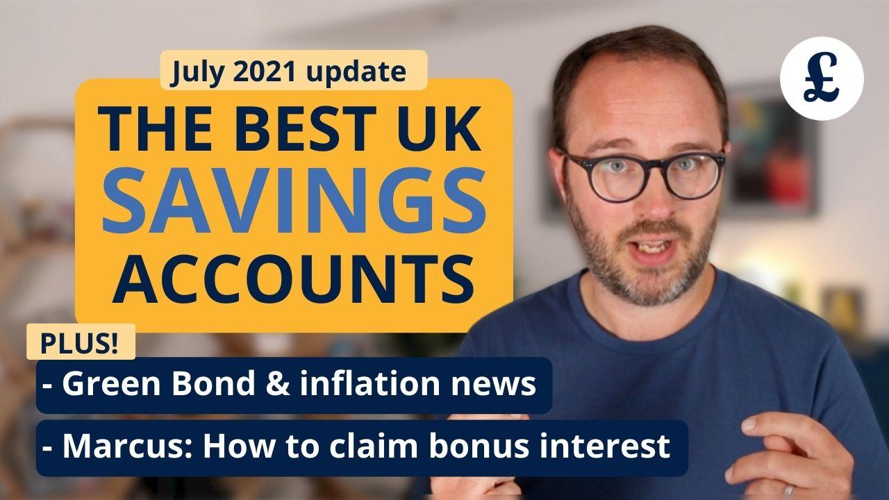 best uk savings july 2021
