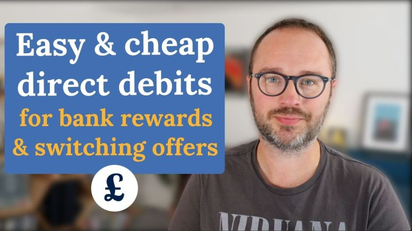 Cheap Direct Debits for bank switching and rewards