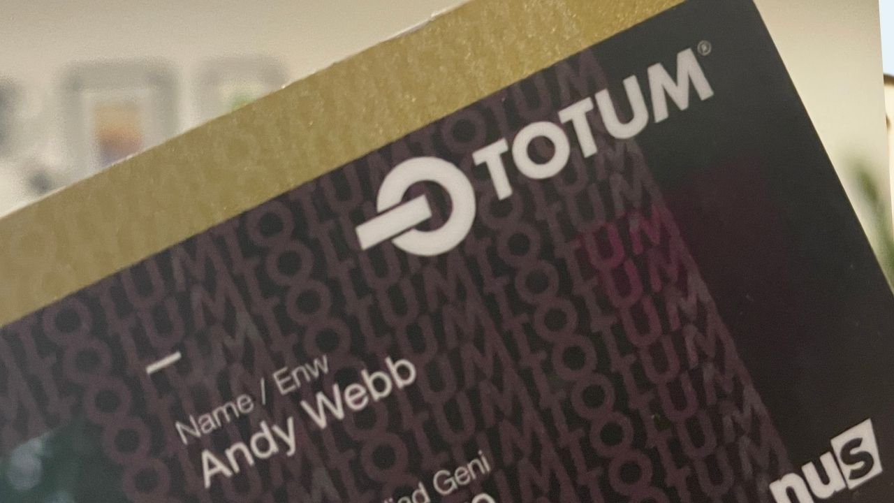 NUS Totum card when not a student