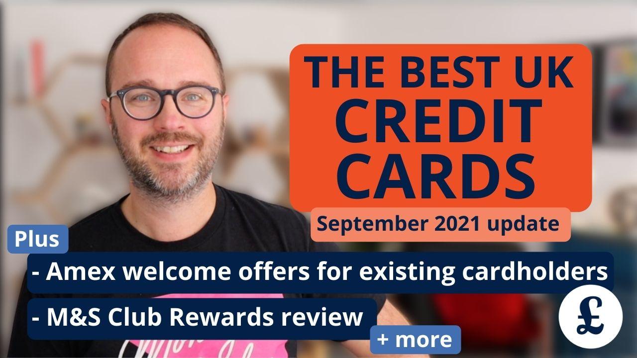 Credit cards september 2021