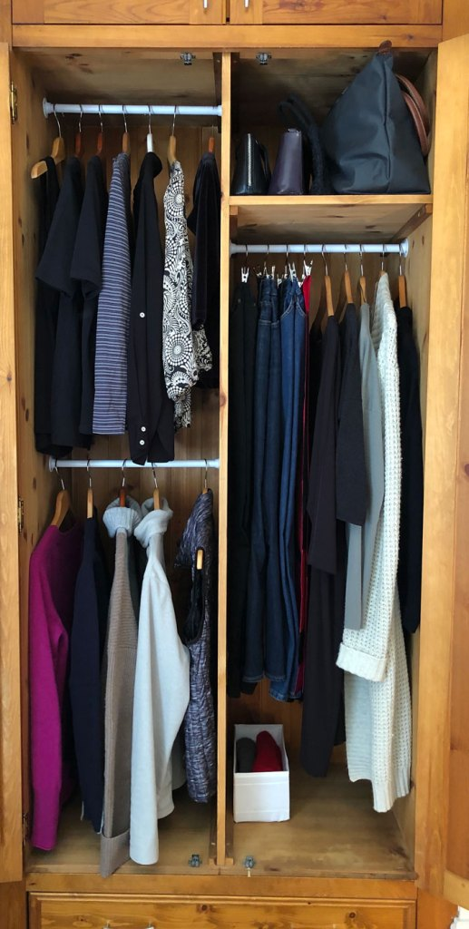 How to organise your wardrobe for winter