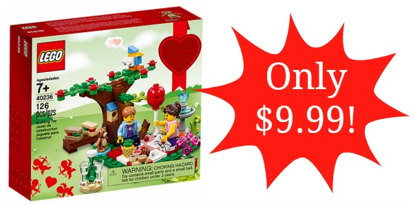 Lego Romantic Valentine Picnic Set Only 999 Become A