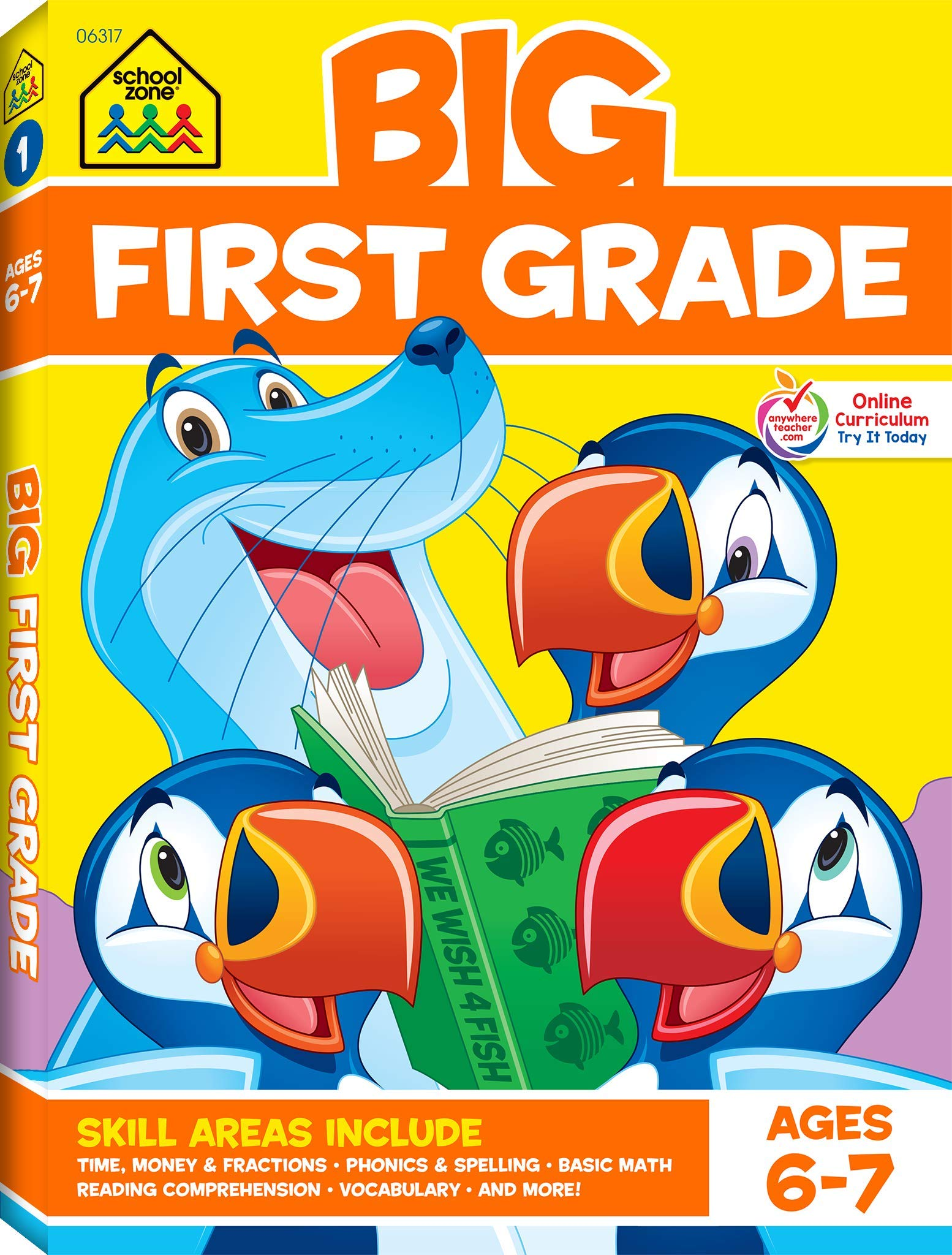 Big First Grade Workbook Only 6 89 Reg 12 99