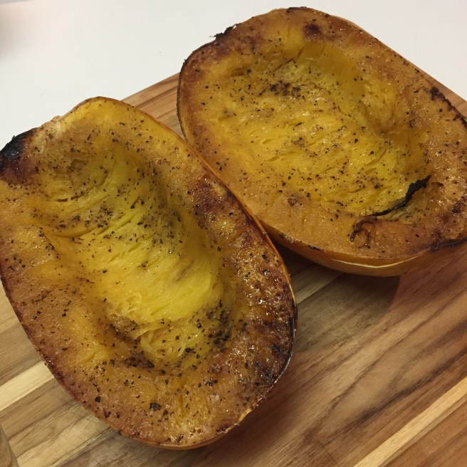 squash cooked