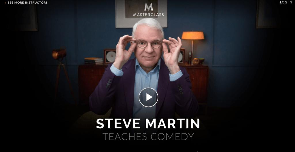 Steve Martin's Comedy Masterclass