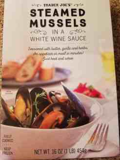 Trader Joes Steamed Mussels