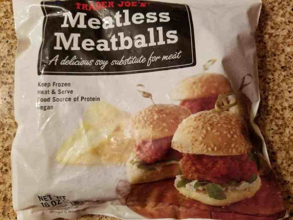Trader Joe's Meatless Meatballs