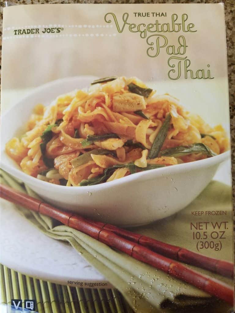 Trader Joe's Vegetable Pad Thai