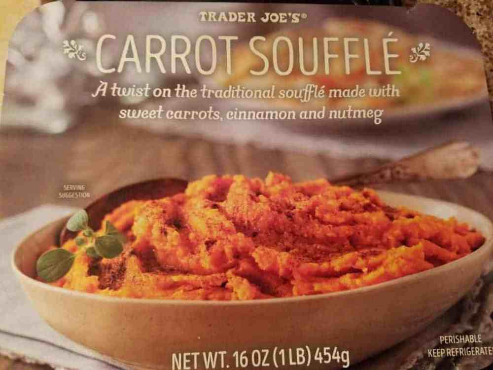 Trader Joe's Carrot Souffle