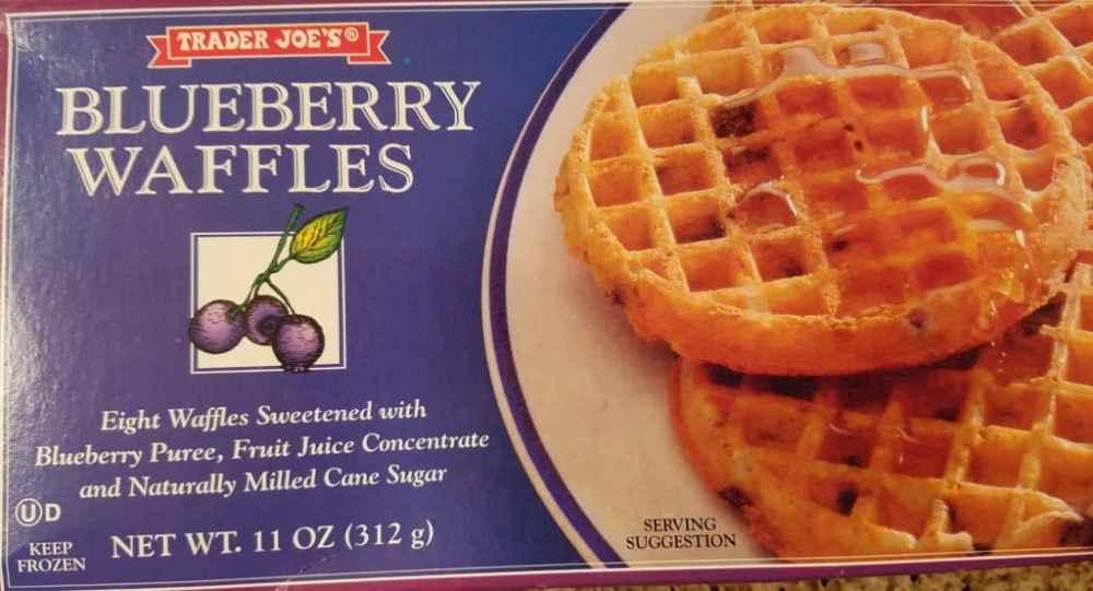Trader Joe's Blueberry Waffles