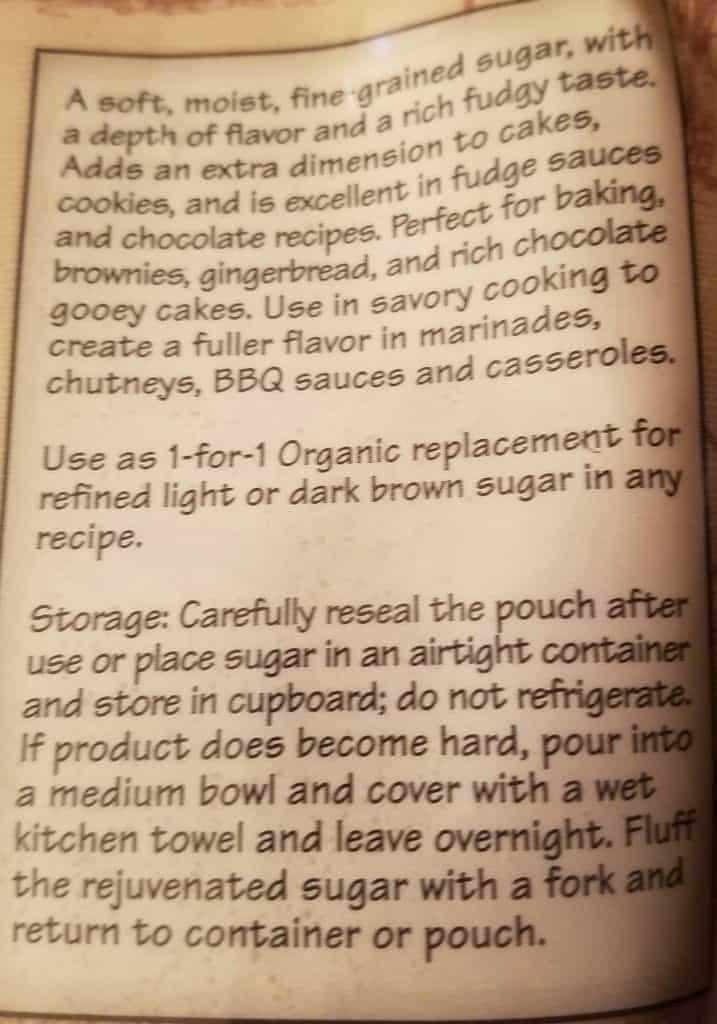 Trader Joe's Organic Light Brown Sugar