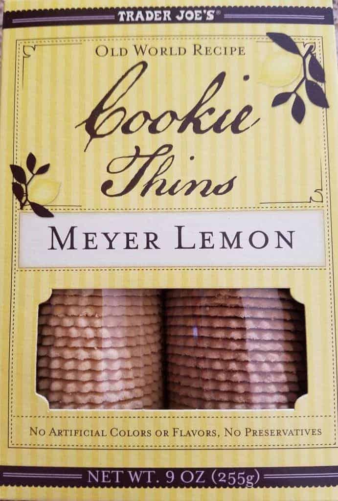 Trader Joe's Meyer Lemon Cookie Thins