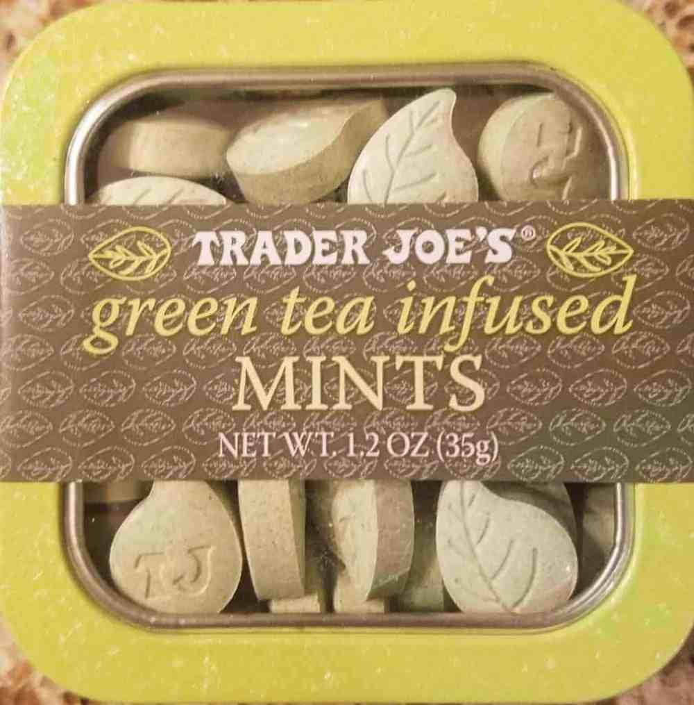 Trader Joe's Green Tea Infused Mints